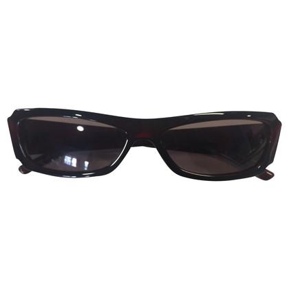 Gucci Donkerrode zonnebril