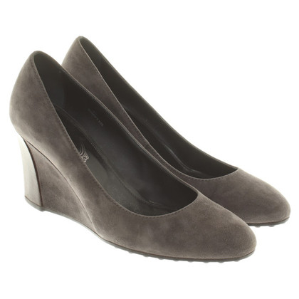 Tod's Wedges in grey