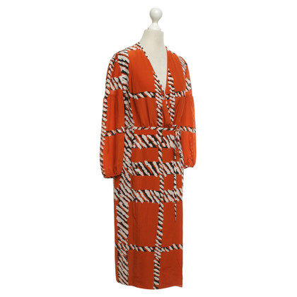 Burberry Wrap dress with pattern