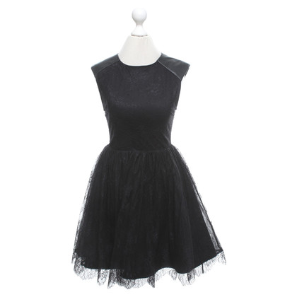 Alice + Olivia Lace dress in black