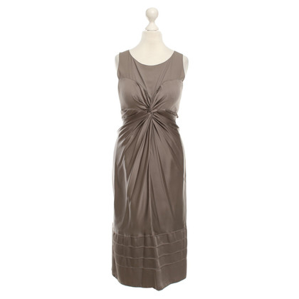 René Lezard Shimmering dress in gray