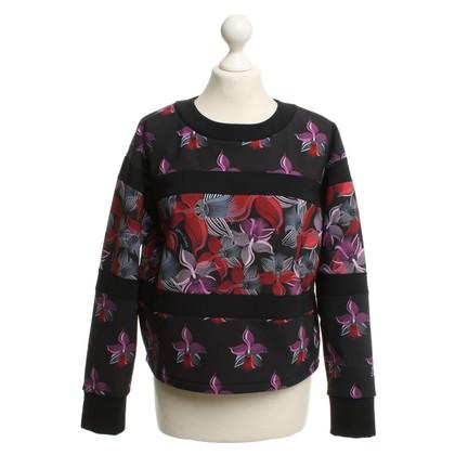 Fendi Pullover mit floralem Muster