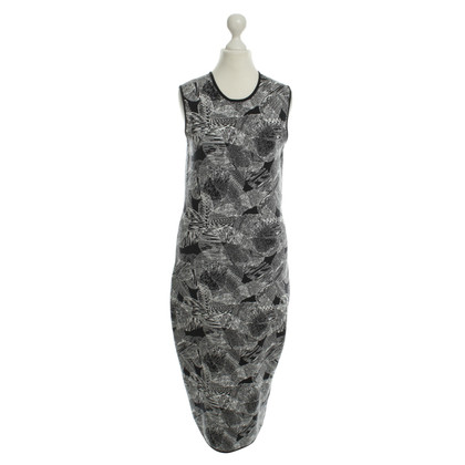 Hugo Boss Kleid in Schwarz/Weiß