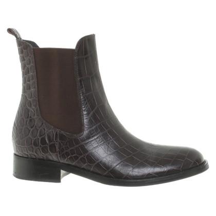 Strenesse Enkel laarzen paars