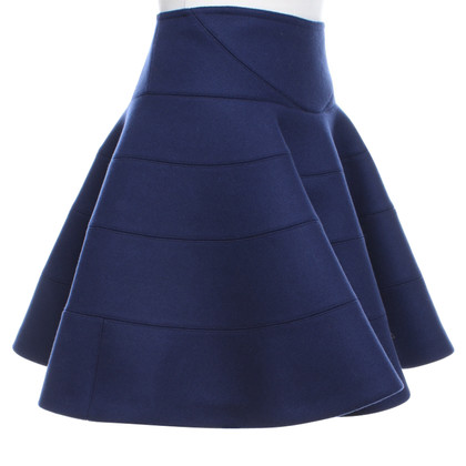 Alaïa skirt in dark blue