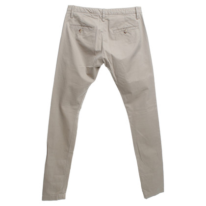 Acne pantaloni chino in beige