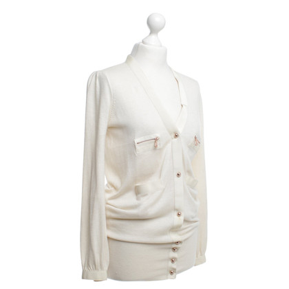 Mulberry Strickjacke in Creme