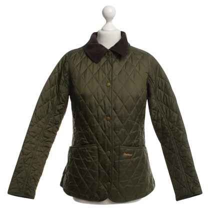 Barbour giacca trapuntata in verde oliva
