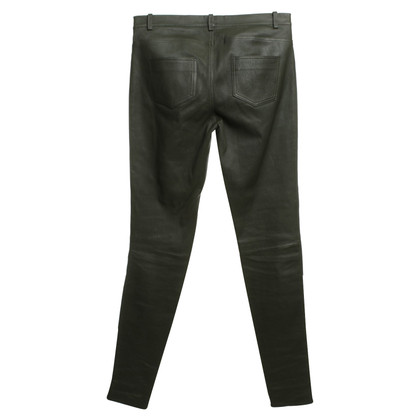 Other Designer DNA - Leather pants in green