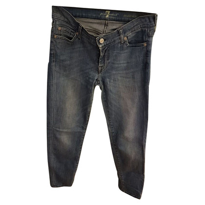 7 For All Mankind Jeans en look usé