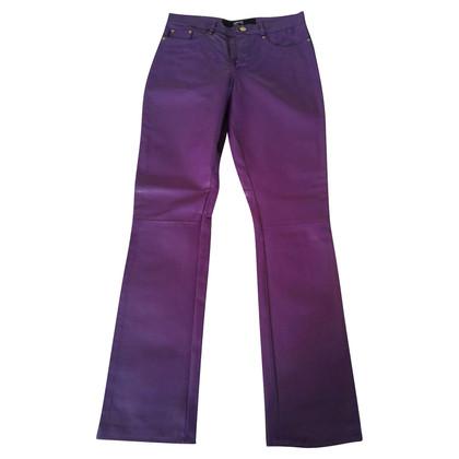 Gianni Versace LEATHER PANTS