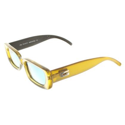 Gucci Sunglasses in Gold / Green