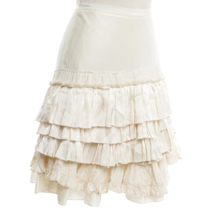 Chloé Short skirt in cream