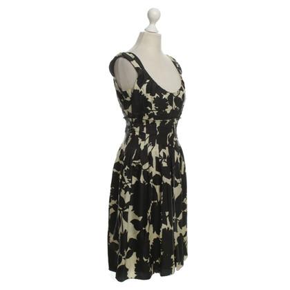 Moschino Kleid mit floralem Muster