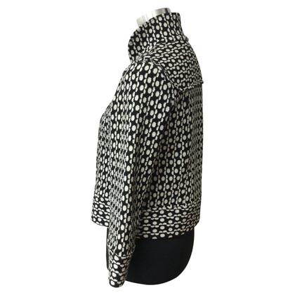 Diane von Furstenberg Jacke in Schwarz/Weiß