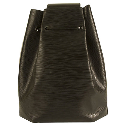 Louis Vuitton Black Epi Backpack