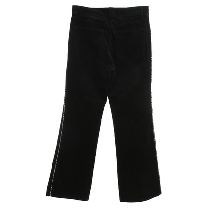 Burberry Corduroy trousers in black