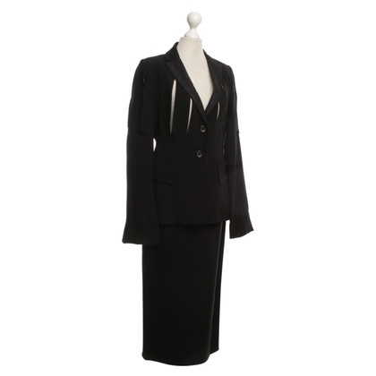 Jil Sander Costume in black