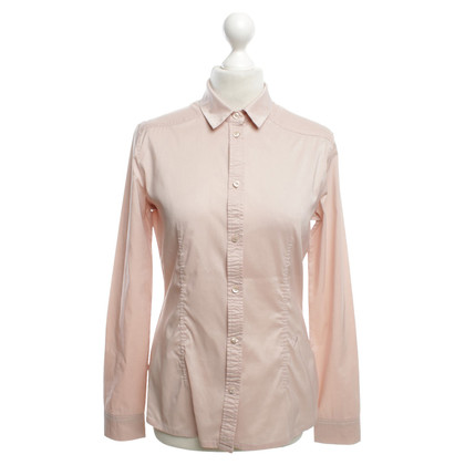 René Lezard Blouse in Nude