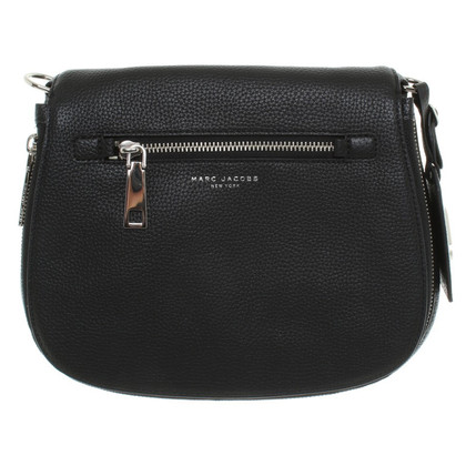 Marc Jacobs Saddle Bag in zwart