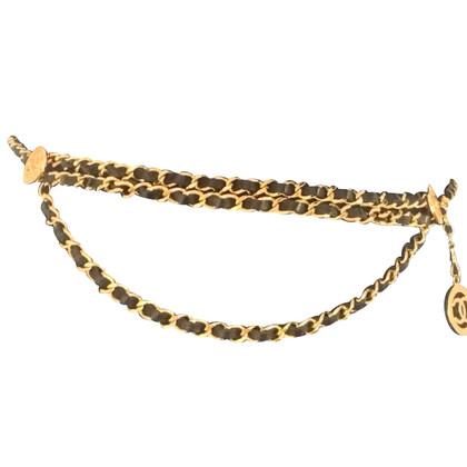 Chanel Vintage belt in black