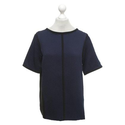 Calvin Klein T-shirt in donkerblauw / zwart