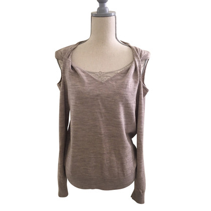 All Saints Strickpullover mit Cold Shoulder