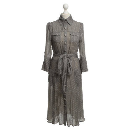Diane von Furstenberg zijden jurk met de punten