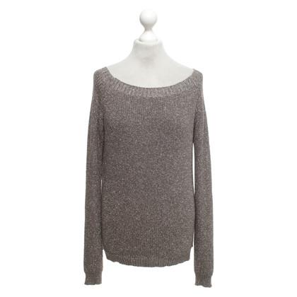 Rich & Royal Sweater met metallic garen