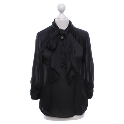 Gucci Silk blouse in black