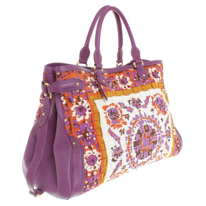 Escada Shopper in Multicolor
