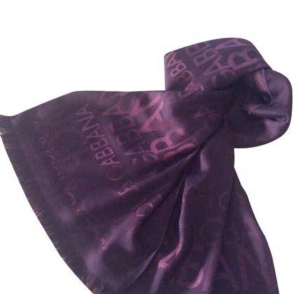 Dolce & Gabbana Schal aus Wolle/Seide