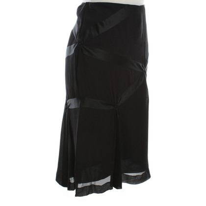 Alberta Ferretti Rok met silk stocking