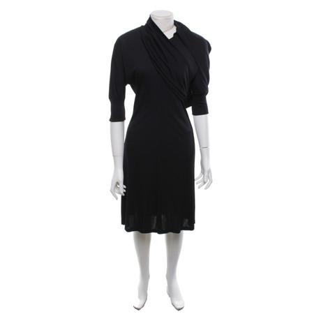 Malo Kleid mit Details Schwarz