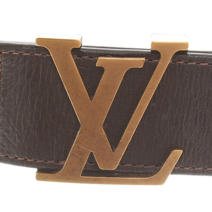 Louis Vuitton Belt in dark brown