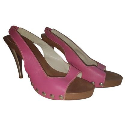 D&G Sandals in Roze / Zilver