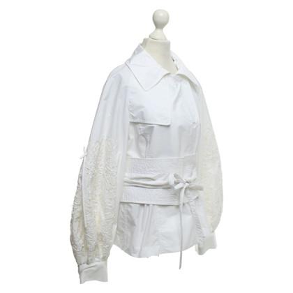 Ermanno Scervino Jacke in Weiß