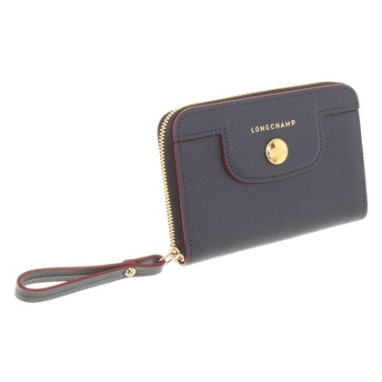 Longchamp Wallet in blauw