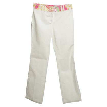 Escada Pants that are decorated with