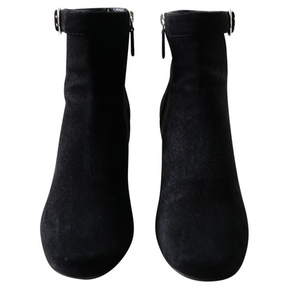 Prada stivali di camoscio nero