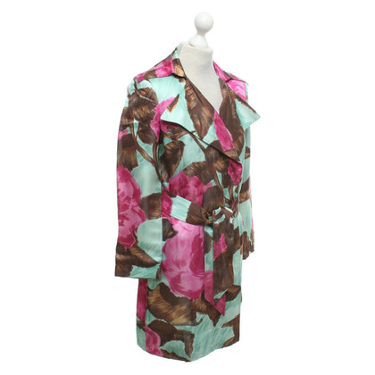 Strenesse Coat with floral pattern