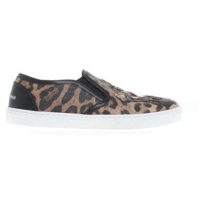 Dolce & Gabbana Slipper with leopard pattern