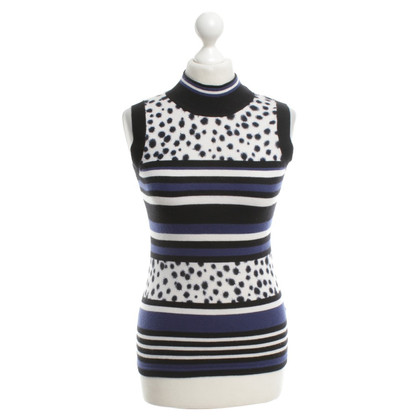 Marc Cain top with stripe pattern