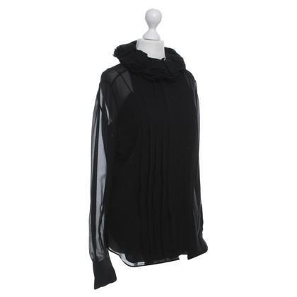 Ralph Lauren Silk blouse with flounces