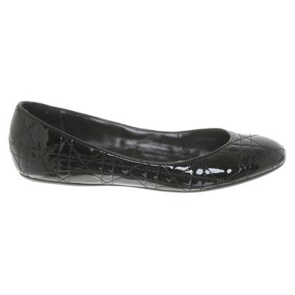 Christian Dior Ballerina's in zwart
