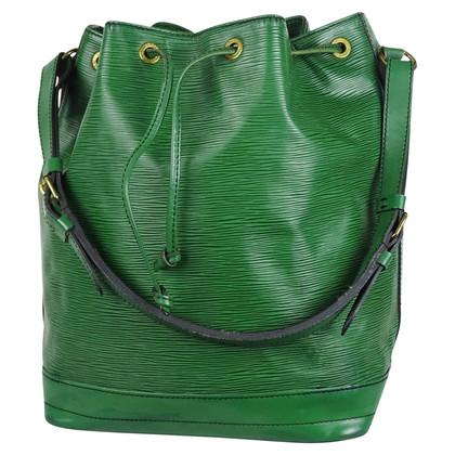 """Louis Vuitton """"Sac Noé EPI' in het groen"""