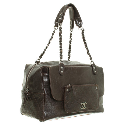 Chanel Tote with chain elements