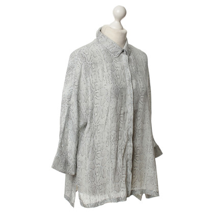 Marc Cain Blouse with reptile-pattern