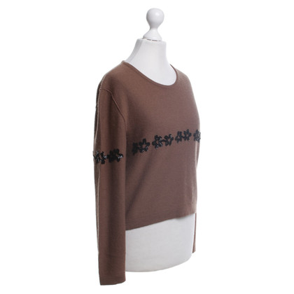 Sonia Rykiel Sweater with sequin flowers