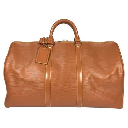 """Louis Vuitton """"Keepall 50 EPI ' in marrone"""